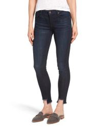Parker Smith Blue Parker Smiith Twisted Seam Skinny Jeans