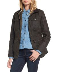 Barbour - Green Filey Water Resistant Waxed Canvas Jacket - Lyst