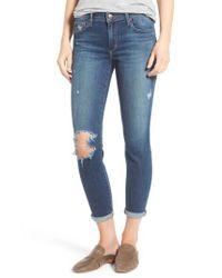 Joe's - Blue Andie Skinny Crop Jeans - Lyst
