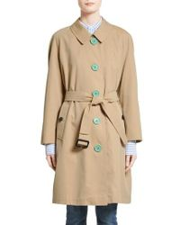 Burberry Natural Brinkhill Trench Coat