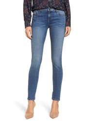 Kut From The Kloth Blue Mia Toothpick Skinny Jeans