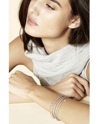 Bony Levy Metallic 'aurora' Diamond Pavé Circle Line Bracelet (nordstrom Exclusive)