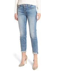 7 For All Mankind Blue 7 For All Mankind 'josefina' Boyfriend Jeans