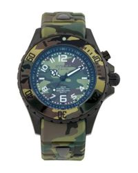 Kyboe - Green ! Camouflage Silicone Strap Watch for Men - Lyst