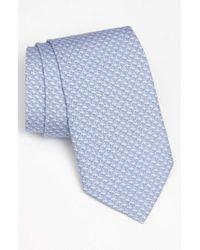 Vineyard Vines Blue 'whale' Silk Tie for men