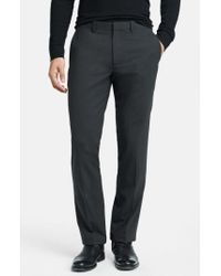Theory Gray 'marlo New Tailor' Slim Fit Pants for men