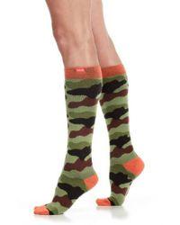VIM & VIGR - Green Camouflage Compression Trouser Socks for Men - Lyst