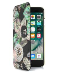 Ted Baker - Green Clarna Iphone 7 & 7 Plus Mirror Folio Case - Lyst