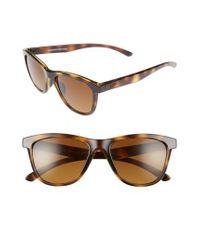 0b6e33f4c6 Lyst - Oakley Moonlighter 53mm Polarized Sunglasses in Brown