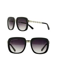 Freida Rothman - Black 'serena' 57mm Square Sunglasses - Lyst