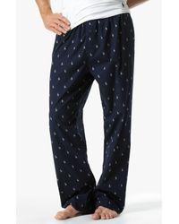 Polo Ralph Lauren Blue Print Pajama Pants for men