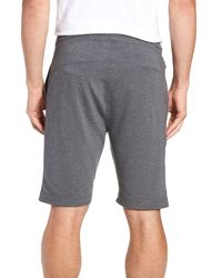 tasc Performance Gray Legacy Ii Semi Fitted Knit Athletic Shorts for men