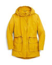 J.Crew Yellow Perfect Raincoat