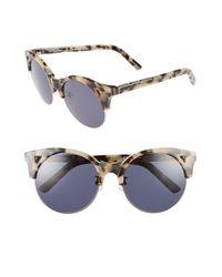 Pared Eyewear Multicolor Up & At Em 55mm Retro Sunglasses -