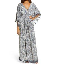 Raga Gray Kassie Tassel Maxi Dress