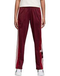 Adidas Red Originals Adibreak Tearaway Track Pants for men