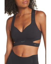 c21b5fa4e Lyst - Nike Lab Xx High Support Dri-fit Sports Bra in Black