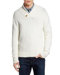 French Connection - White Flux Sweater for Men - Lyst