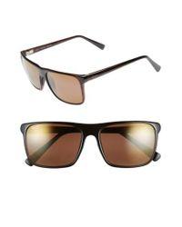 Maui Jim - Brown Flat Island 58mm Polarizedplus Sunglasses - Lyst