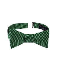 Ted Baker - Green Dot Silk Bow Tie for Men - Lyst