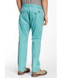DIESEL Blue Chi-regs Regular Slim Fit Trouser for men