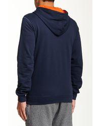 DIESEL Blue Brandon Z Hooded Sweatshirt for men