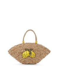 Shiraleah - Natural Lemon Straw Tote - Lyst