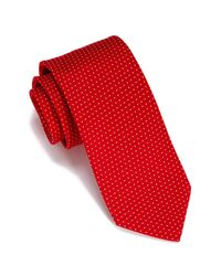 Perry Ellis - Red Waki Mini Geo Print Tie for Men - Lyst