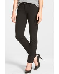 Kut From The Kloth Black Mia Toothpick Skinny Pant