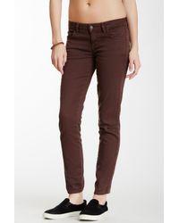 Siwy - Brown Hannah Slim Crop Jeans - Lyst