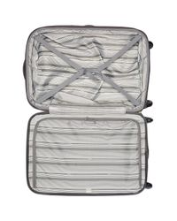 """Delsey - Gray Helium Shadow 2.0 25"""" 4-wheel Expansion Spinner Trolley for Men - Lyst"""