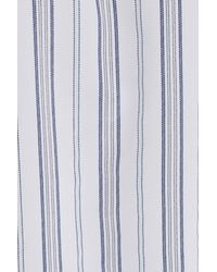 Equipment - Blue Leema Stripe Silk Shirt - Lyst