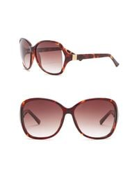 Vince Camuto - Brown Women's Oversized 62mm Acetate Frame Sunglasses - Lyst