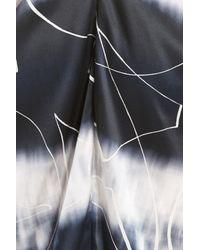 Zero + Maria Cornejo Multicolor Kou Elliott X-ray Stretch Silk Dress