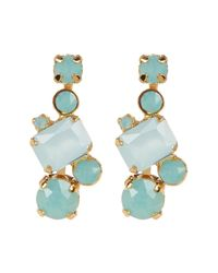 Sorrelli | Multicolor Classic Crystal Geo Drop Earrings | Lyst