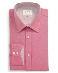 Ted Baker Pink Endurance Dress Shirt for men
