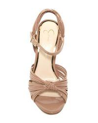 Jessica Simpson Natural Evy Stiletto Sandal
