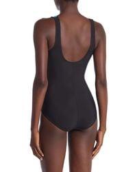 Reebok Blue Sonic Wave One-piece Swimsuit