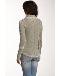 Alternative Apparel - Green Everyday Long Sleeve Blouse - Lyst