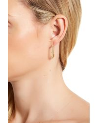 Rebecca Minkoff - Multicolor Mini Pave Safety Pin Earrings - Lyst