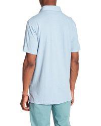 Tailor Vintage Blue Pocket Front Polo for men