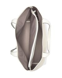 Kate Spade Natural Leather Ash Street Compartment Tote