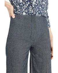 J.Crew - Blue Collection Crop Trousers - Lyst