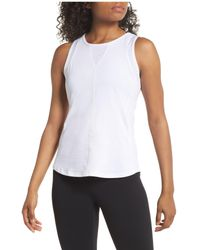 Zella White Look Within Tank
