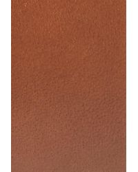Monte Rosso - Brown Carmelo Leather Dress Belt for Men - Lyst