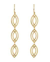 Gorjana - Metallic Mesa Weave Drop Earrings - Lyst
