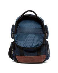 Original Penguin Blue Peterson Backpack for men