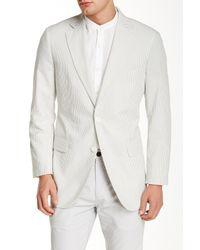 Brooks Brothers Gray Grey Seersucker Jacket for men