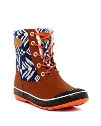 Keen | Brown Elsa Faux Shearling Lined Waterproof Boot | Lyst
