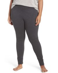 UGG | Gray Goldie Stretch Leggings (plus Size) | Lyst